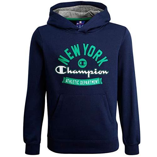 Champion Sudadera New York Athletic Department Marino Niño: Amazon.es: Ropa y accesorios