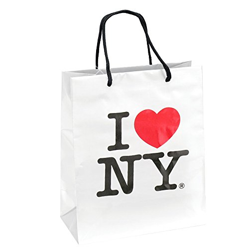I Love NY Gift Bag for New York City Theme Parties, (8x10 inches) NYC Gift Bags, Welcome Baskets and Events