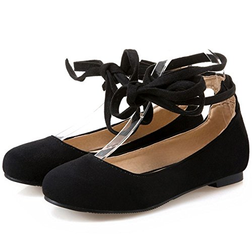 black Pumps Flats Comodo Ballets Mujer 1 Flat Melady xtw0q4v7n
