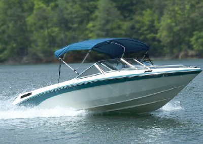 (Carver Covers 401WV 3 Bow Bimini Top 61-66In Wh Vinyl Canvas (Canvas and Protective Boot Only - No Frame) Made by Carver Covers)