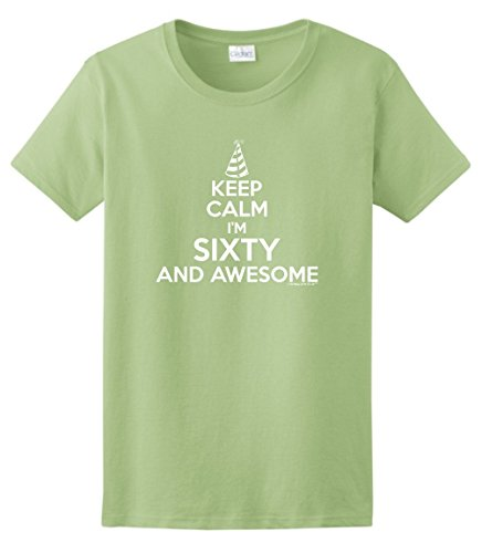 60 Year Old Birthday Gifts 60th Birthday Gifts For All Keep Calm 60 Awesome Ladies T-Shirt Small - 60 Woman Year Old For Frames Glasses