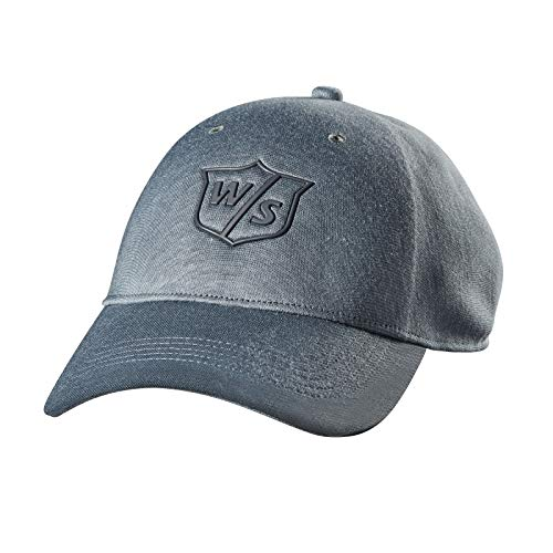- Wilson Staff One Touch Golf Cap, Ash Light Grey