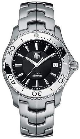 amazon com tag heuer men s wj1110 ba0570 link quartz stainless rh amazon com Baume Mercier Rolex Submariner
