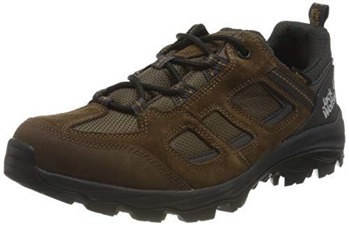 Jack Wolfskin Hombre Vojo 3 Texapore Low M Outdoor Zapatos, Brown Phantom, us: 7.5