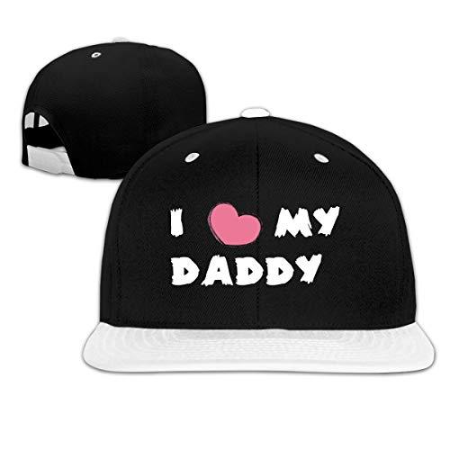Adam B George9 Unisex I Love My Dad Adjustable Leisure and Comfort Baseball Cap