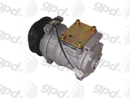 Global Parts Distributors 6511818 New Compressor And Clutch ()