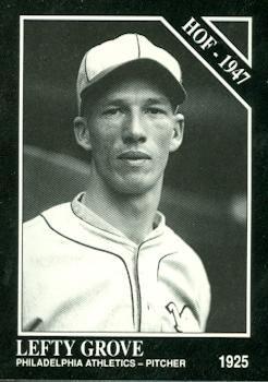 Amazoncom Lefty Grove Baseball Card Philadelphia Athletics 1991