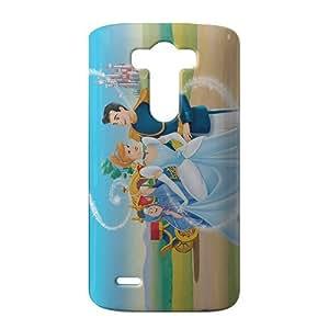 SHOWER 2015 New Arrival cinderella 3D Phone Case for LG G3
