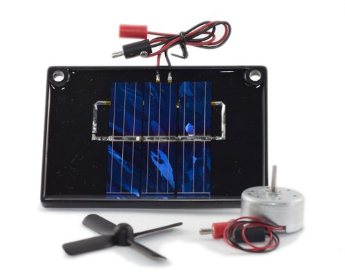 Solar Cell And Lamp Experiment - 3