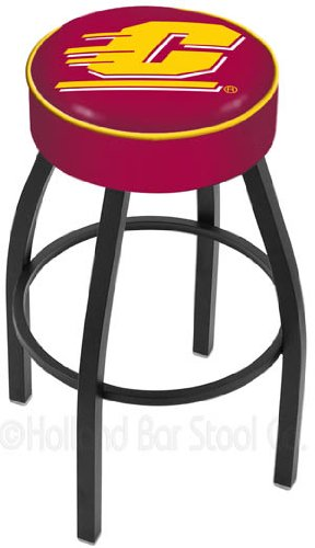 Cheap NCAA 25″ Swivel Bar Stool with Cushion NCAA Team: Central Michigan