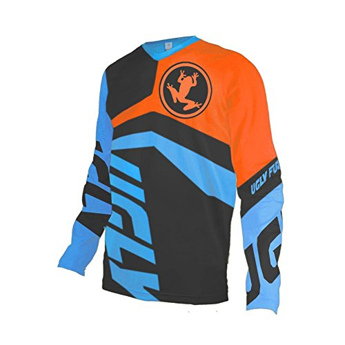 Uglyfrog Winter Thermal Fleece Long Sleeve Downhill Jersey MX Enduro Offroad Motocross Shirt