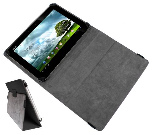 DURAGADGET Executive Portfolio PU Leather Case Cover for Asus Transformer Pad Infinity TF700, Asus Transformer Prime TF201 & Transformer Pad TF300T Tablet (Asus Tf300t Keyboard)