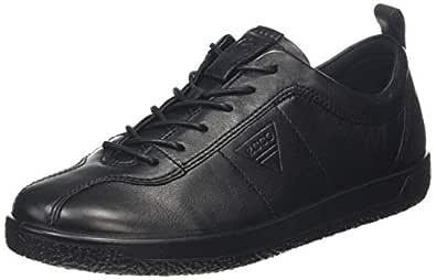 ECCO Women's Soft 1 W Shoes, Black, 35 EU
