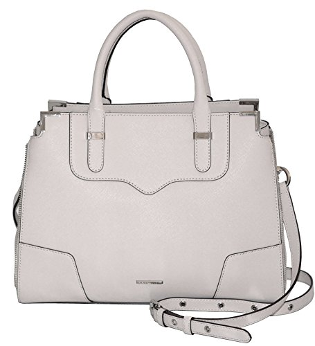 Rebecca Minkoff Saffiano Leather Amorous Satchel Purse Handbag Shoulder BagBag by Rebecca Minkoff