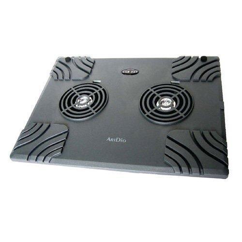 Kinyo ArtDio CF-100 Lightweight and Portable USB Dual Fan Laptop Cooling Pad
