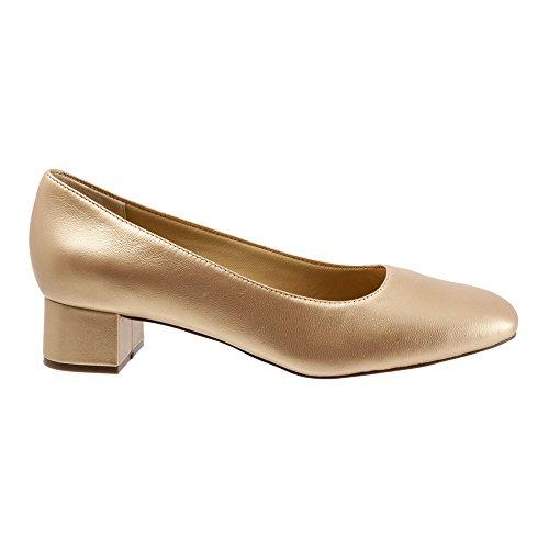 Trotters Women's Lola Dress Pump Goldwash Dress Kid Leather outlet recommend visa payment for sale outlet original RYrsnc
