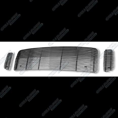 APS Fits 1999-2004 Ford F250// F350// Excursion Black Billet Grille #F65707H