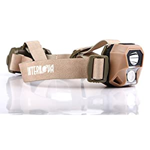 Best Ultra Bright LED Headlamp by Internova - Star Rider XL Dual Color Camping & Emergency Headlight - Brightest Most Comfortable Lantern for Running, Reading, Camping, Kids, Scouting, Biking & Hiking