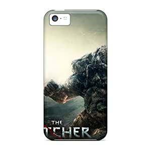 AMGake Iphone 5c Hybrid Tpu Case Cover Silicon Bumper The Witcher