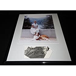 June Lockhart Signed Framed 11x14 Photo Poster Display Lassie