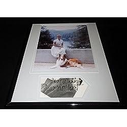 June Lockhart Signed Framed 11x14 Photo Poster Display Lassie