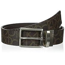 Calvin Klein mens 35 Mm Ck Logo Reversible Strap Belt