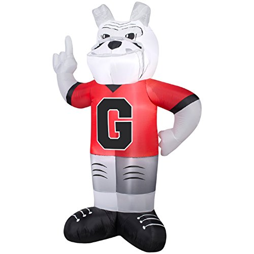 NCAA INFLATABLE LED LIGHTED UNIVERSITY OF GEORGIA MASCOT UGA THE BULLDOG PROP DECORATION Tennessee Mascot Golf