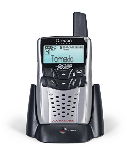 Oregon Scientific WR602 Weather Radio with Charge - Manual Clock Scientific Oregon