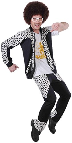 Rubie's Costume Lmfao Red Foo Party Rock Anthem Pants And Jacket With Attached Shirt, Multi, (Out Of Print Halloween Costume Patterns)