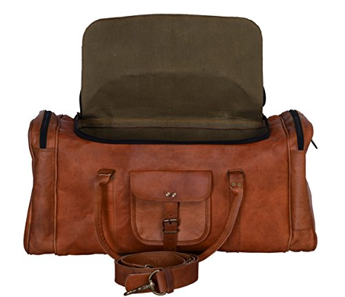 Leather Lined Carry On - 4