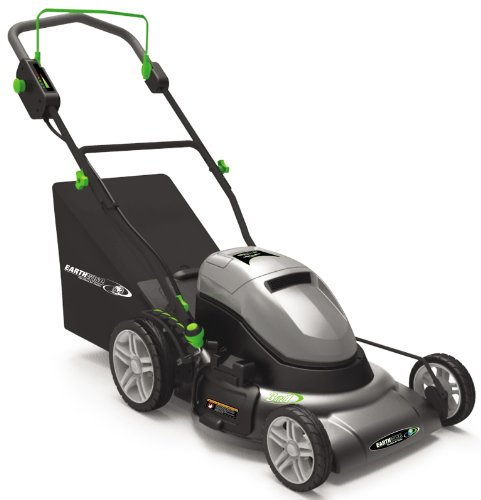 Earthwise 60220 20-Inch 24-Volt Side Discharge/Mulching/Bagging Cordless Electric Lawn Mower by Earthwise