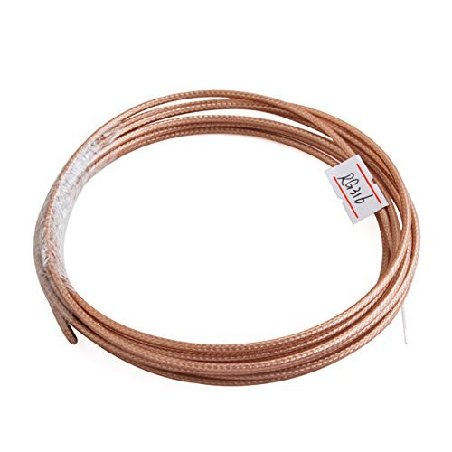 Rg316 Coaxial - Eightwood RG316 RF Coaxial Coax Cable 50 feet