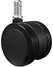chairpartsonline Soft Caster Wheel for Hardwood Floors - 5 Casters Aeron Compatible