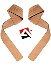 AQF gewichtheffen Gym riemen gewatteerde Crossfit pols ondersteuning Wraps Hand Bar Bodybuilding Training Workout Multi kleur