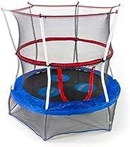 Skywalker Trampolines Mini Trampoline with Enclosure Net