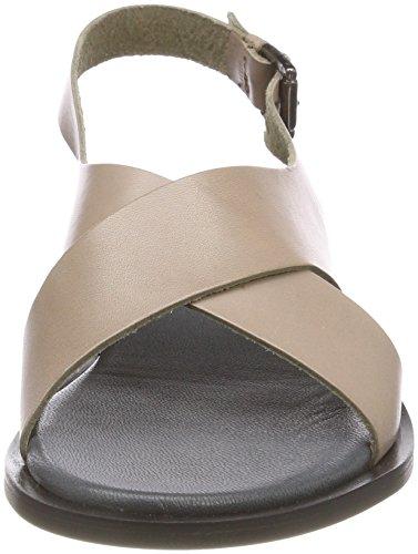 Shoe Biz Hasta, Sandalia con Pulsera Para Mujer Beige (Florido Classic Taupe)