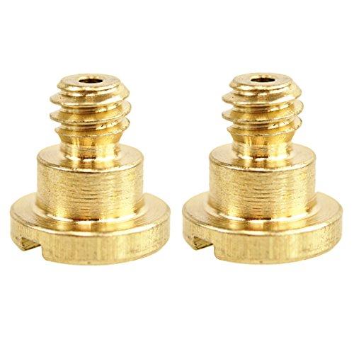 CamDesign 2 Pieces Brass 1/4