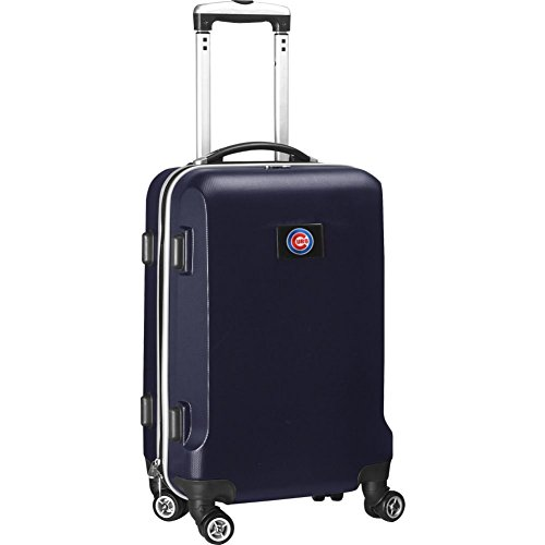 picture of MLB Chicago Cubs Domestic Carry-On Hardcase, Navy, 20-Inch