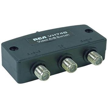 Audiovox VH74 RCA RCA Negro adaptador de cable - Adaptador para cable (RCA, RCA