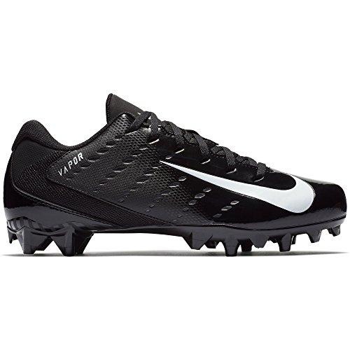 NIKE Men's Vapor Untouchable Varsity 3 TD Football Cleat Black/White/Anthracite Size 11 M US by NIKE