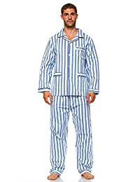 MarCielo Men's Sleepwear Cotton Pajama Set for Men