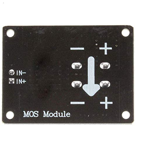 3V 5V Low Control High Voltage 12V 24V 36V E-switch Mosfet Module For Connect IO MCU PWM Control Motor Speed 22A Blue
