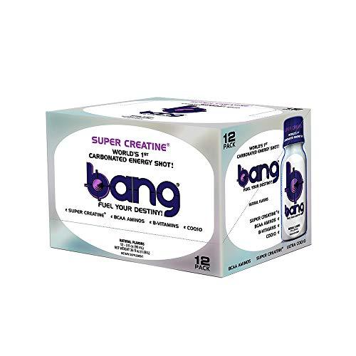 VPX Bang Shot World's First Carbonated Energy Shot Bangster Berry 12 (3fl oz) ()
