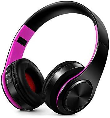 BJGUG Auriculares Plegables, Auriculares InaláMbricos Bluetooth ...