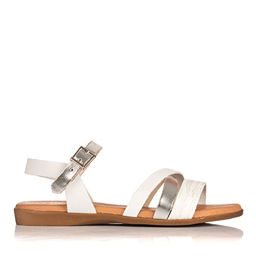 Fille 3940 Blanc My Tongs pour sandals Oh w017EqX0