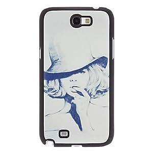 compra Modelo elegante de la PU caja dura del cuero Mujeres para Samsung Galaxy Note N7100 2