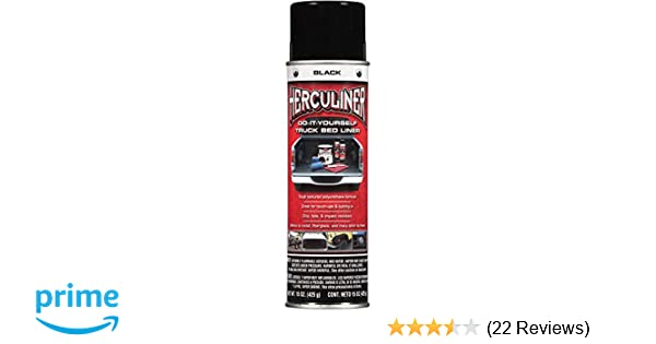 Herculiner Aerosol Spray Bed Liner 15 Ounce