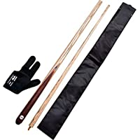 Generic Combo Of Dufferin Snooker And Pool Cue (1-Dufferin Cue ,1- Glove ,1- Half Cover)