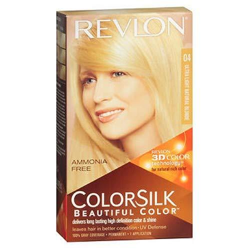 Revlon Colorsilk美しい色のパーマネントカラー、ウルトラライトナチュラルブロンド04、3パック 3パック ウルトラライトナチュラルブロンド B072PWKZHB ウルトラライトナチュラルブロンド