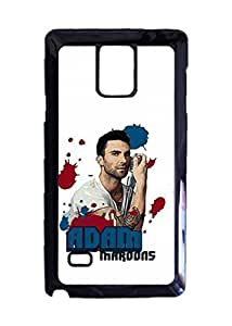 Maroon 5 Art of Adam Levine Image Design Hard Back Case cover skin for Samsung Galaxy Note 4
